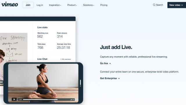 Live-Streaming Platforms